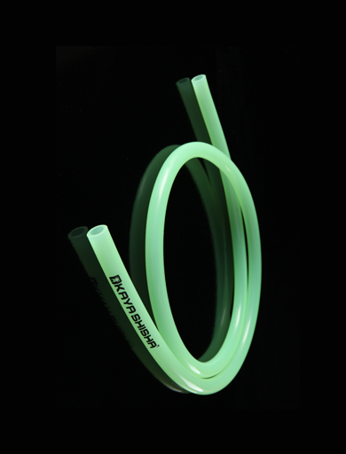 Silicon Hose Transparent with Kaya-logo